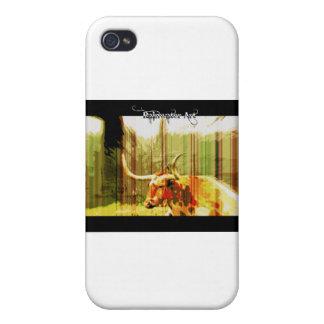 Cuerno largo de Tejas iPhone 4/4S Funda