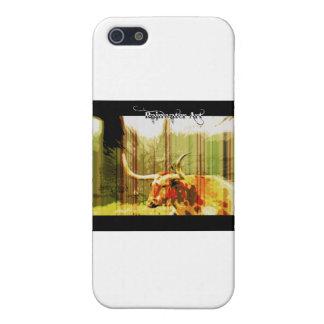 Cuerno largo de Tejas iPhone 5 Protectores