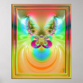 Cuernos de la impresión del arte de la variación 2 posters