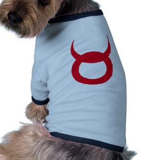 Cuernos del diablo - Emo, gótico, alternativa, roc Camisa De Perrito