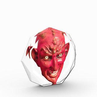 Cuernos del infierno del demonio de Satan del diab