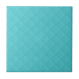 Cuero acolchado aguamarina azulejo ceramica