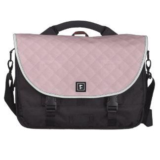 Cuero acolchado rosas bebés bolsas para portatil