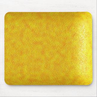 Cuero amarillo mouse pad