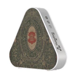 Cuero antiguo del Grunge del gótico Altavoz Bluetooth