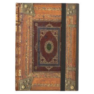 Cuero antiguo y cubierta de libro encuadernado de
