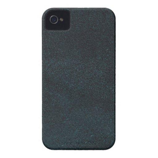 Cuero azul Case-Mate iPhone 4 carcasa
