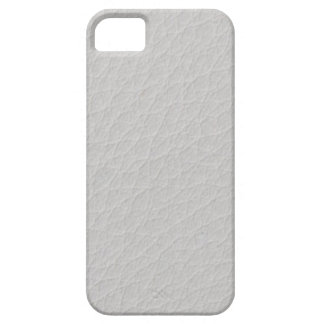 Cuero blanco iPhone 5 fundas
