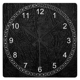 Cuero de Digitaces Reloj Cuadrado