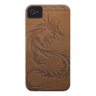 Cuero del dragón iPhone 4 Case-Mate carcasa