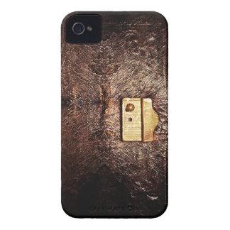 Cuero del vintage funda para iPhone 4