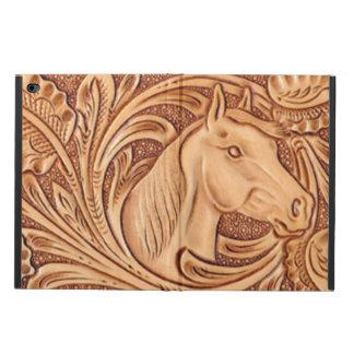 Cuero equipado modelo rústico del caballo