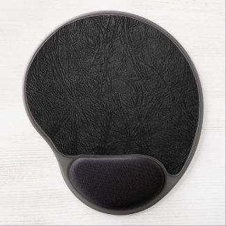 Cuero negro de Digitaces Alfombrilla Con Gel