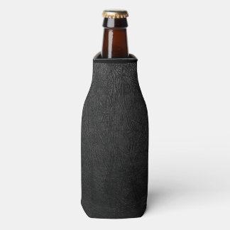 Cuero negro de Digitaces Enfriador De Botellas