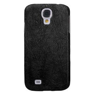 Cuero negro de Digitaces Funda Samsung S4