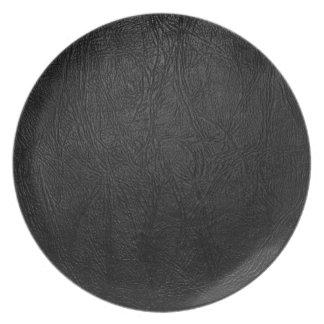Cuero negro de Digitaces Plato