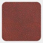 Cuero rojo colcomania cuadrada