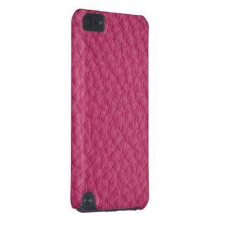 Cuero rosado funda para iPod touch 5G