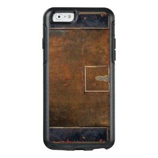 Cuero viejo duro de las cubiertas rústicas funda otterbox para iPhone 6/6s