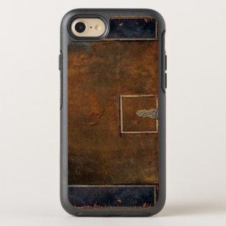 Cuero viejo duro de las cubiertas rústicas funda OtterBox symmetry para iPhone 7