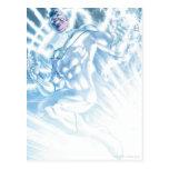 Cuerpo blanco de la linterna - color tarjetas postales