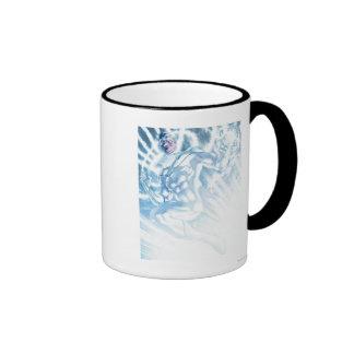 Cuerpo blanco de la linterna - color taza de dos colores