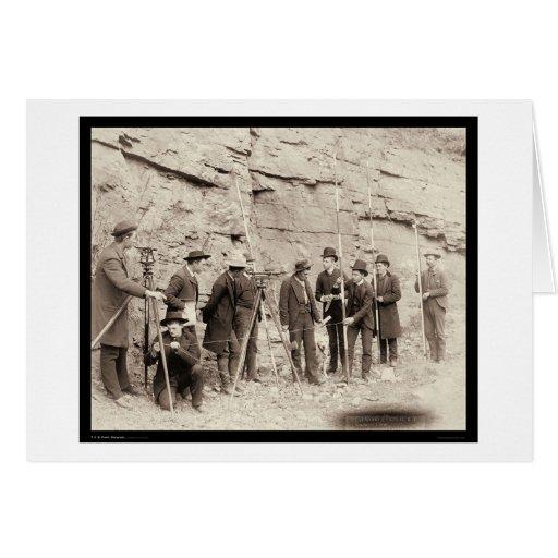Cuerpo central SD 1888 del ingeniero de Deadwood R Tarjeta