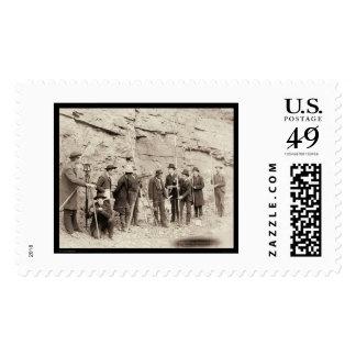 Cuerpo central SD 1888 del ingeniero de Deadwood Sello
