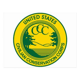 Cuerpo civil de la protección del CCC conmemorativ Tarjetas Postales