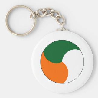 Cuerpo de aire de Irlanda Llaveros Personalizados