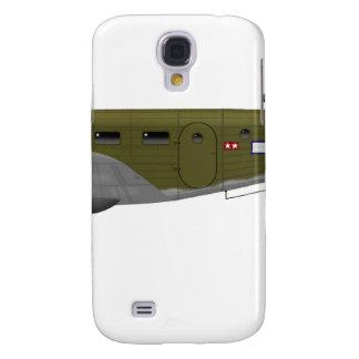 Cuerpo de aire del ejército de la haya C-45 Expedi Funda Para Galaxy S4