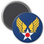 Cuerpo de aire del ejército imán de frigorífico