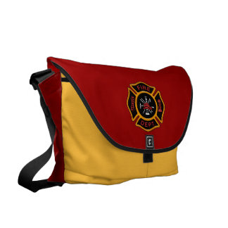 Cuerpo de bomberos bolsas messenger