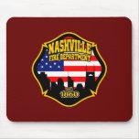 Cuerpo de bomberos de Nashville Tapete De Raton