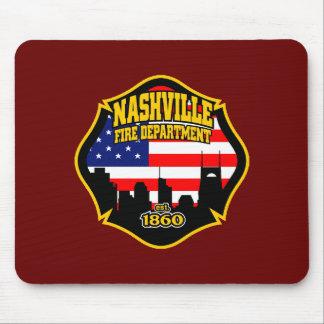Cuerpo de bomberos de Nashville Alfombrillas De Ratones