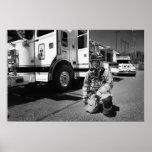 Cuerpo de bomberos poster