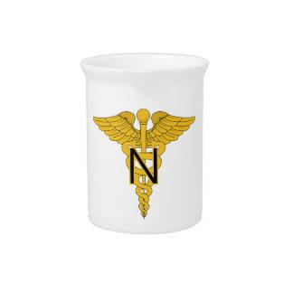 Cuerpo de enfermera del ejército jarras