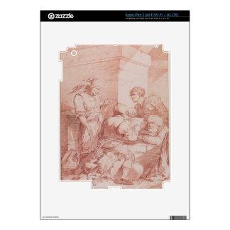 Cuerpo de Garde (bárbaros derrotados por un libro) iPad 3 Skin