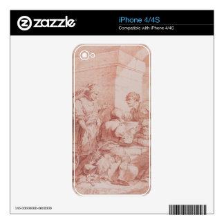 Cuerpo de Garde (bárbaros derrotados por un libro) Skins Para iPhone 4
