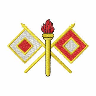 Cuerpo de la señal polo bordado