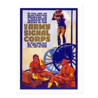 Cuerpo de la señal postal