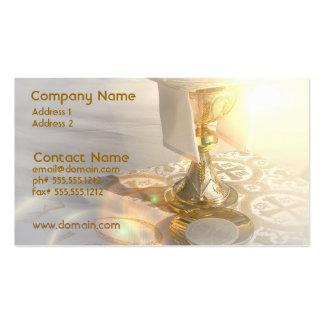 Cuerpo de la tarjeta de visita de Cristo