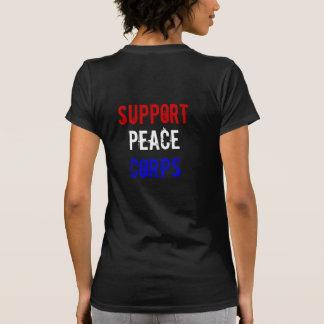 Cuerpo de paz de la ayuda playeras