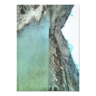 """Cuerpo del agua en el Himalaya Invitación 4.5"""" X 6.25"""""""