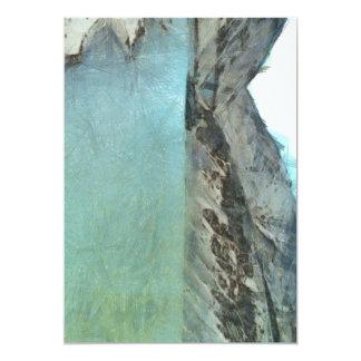 """Cuerpo del agua en el Himalaya Invitación 5"""" X 7"""""""