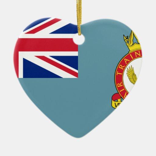 Cuerpo del entrenamiento del aire, bandera de Rein Adorno Para Reyes