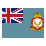 Cuerpo del entrenamiento del aire, bandera de Rein Felicitacion