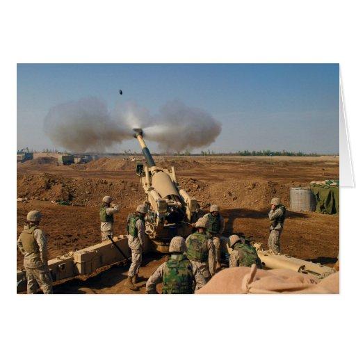 Cuerpo del Marines de Estados Unidos del equipo de Tarjetas