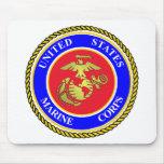 Cuerpo del Marines de Estados Unidos Tapete De Ratones