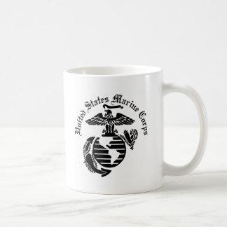 Cuerpo del Marines del USMC Estados Unidos Taza De Café